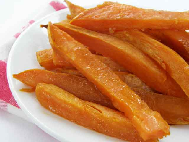 Scrumptious Sweet Potato Sticks