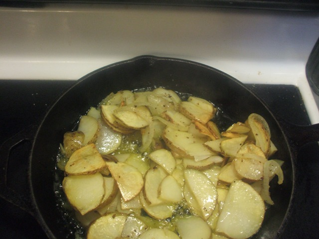 Family Fit Fried Potatoes