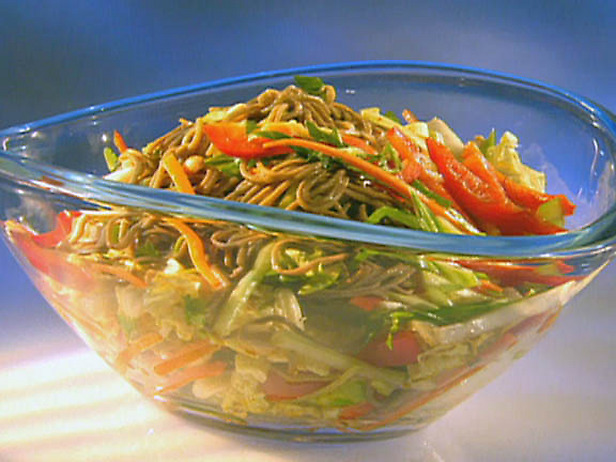 Asian Chicken, Tomato, & Noodle Salad