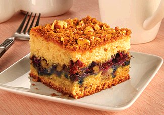 Superb Blueberry Streusel Coffee Cake