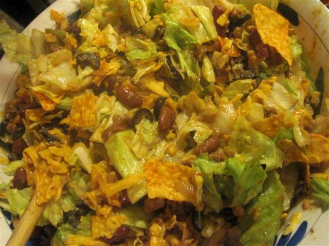 Secret Ingredient Taco Salad