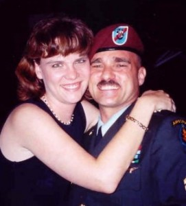 Gregg and Hallee - 1 week after his return from Afghanistan in 2003