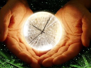 Creation: palms-clock