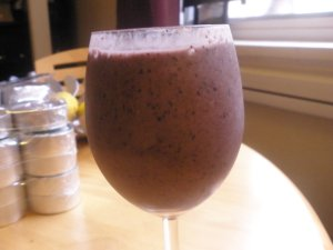 Purple Monster Fruit Smoothie