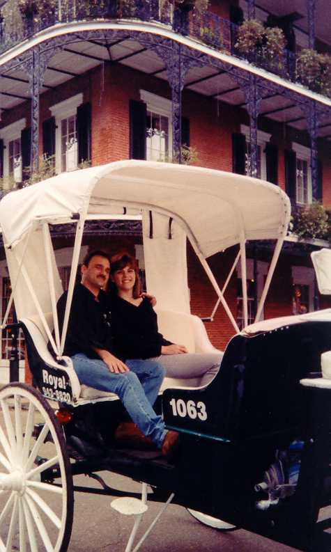Gregg and Hallee in New Orleans
