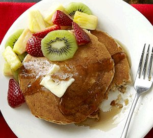 Old-Fashioned Whole Wheat Buttermilk Pancakes