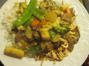 beef stir fry (Small)