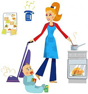 housewife schedule