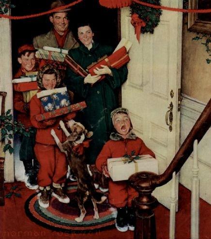 normanrockwellchristmas