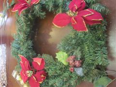 place on wreath 4
