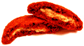 stuffed red velvet cookies