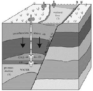 Creation: Natural Gas Deposit 3D BW