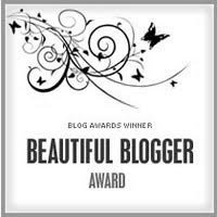 Blog Award: Beautiful Blogger Award