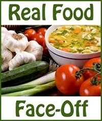Real Food Face-Off 6: Kelly the Kitchen Kop vs. Anne at Catholic Mommy Brain