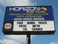 Free Nobel with Oil Change