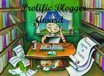 Blog Award: Prolific Blogger Award