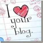 I Heart Your Blog Award