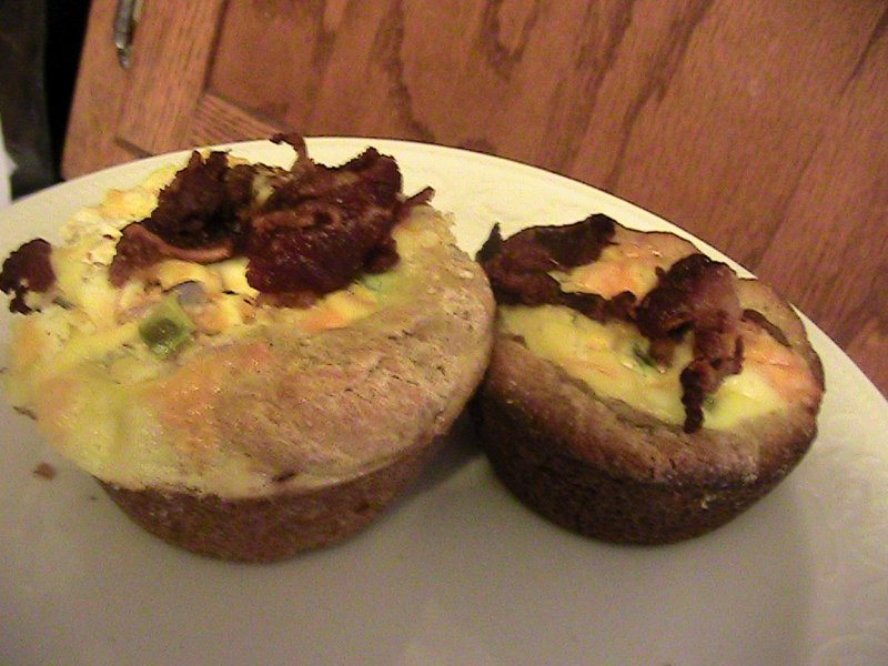 Breakfast or Brunch Beef Bacon Quiche Tarts