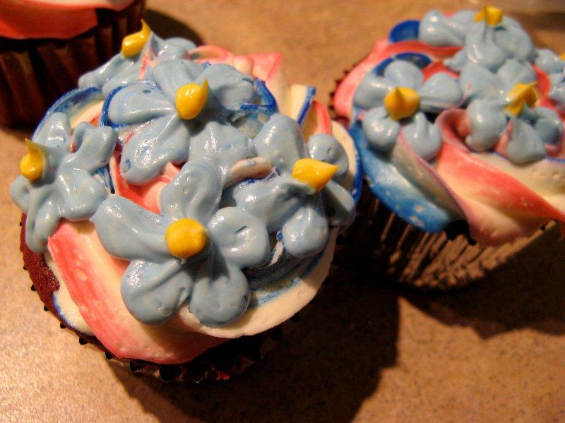 Natalee's Memorial Day Cupcakes