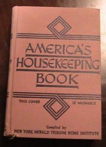 americas housekeeping book