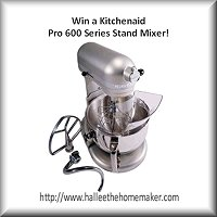 Win This Kitchenaid Professional 600 Series Stand Mixer