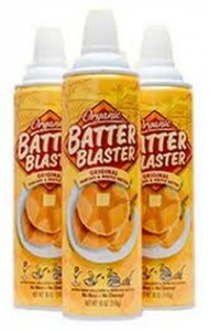 Organic: Batter Blaster in an Aerosol Can