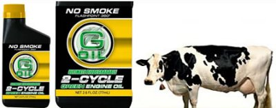 Organic: Cow Fat Motor Oil