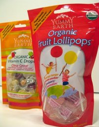 Organic: Lollipops