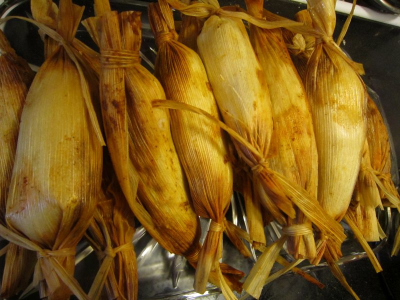 Savory Traditional Chicken Tamales