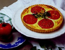 Tantalizing Tomato & Onion Tart