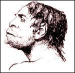 Creation: Piltdown Man Artist Impression