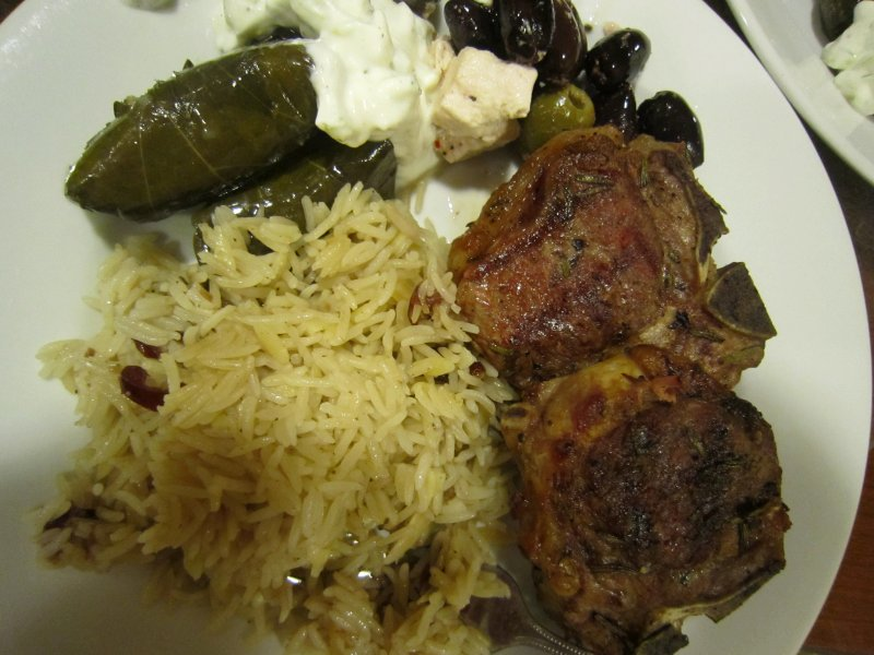 Rosemary & Garlic Grilled Birmingham Lamb Loin Chops