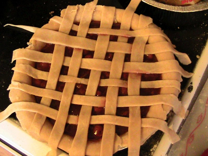How to Make a Lattice Topped Pie