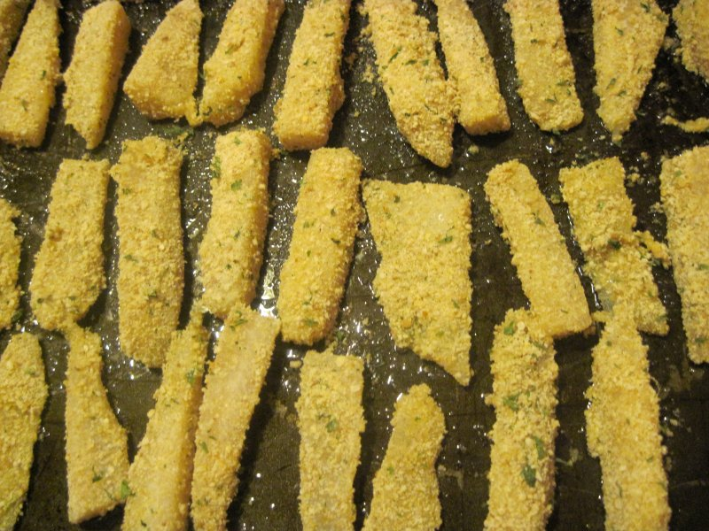 Easy Kid-Friendly Fish Sticks