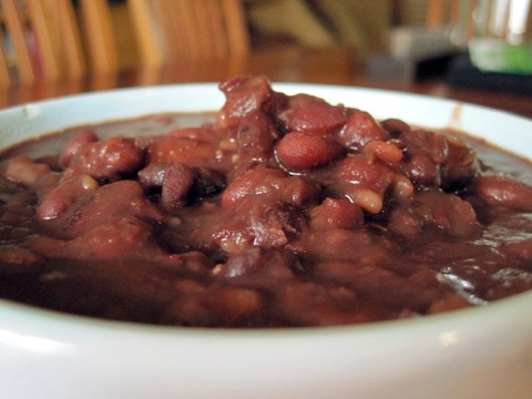 Slow Cooked Kidney Beans