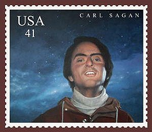 Carl Sagan Proposed Postage Stamp