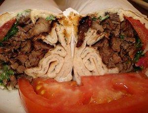 Cajun Style Beef Wrap