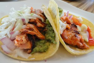 Daring 'Omega-3′ Salmon Tacos