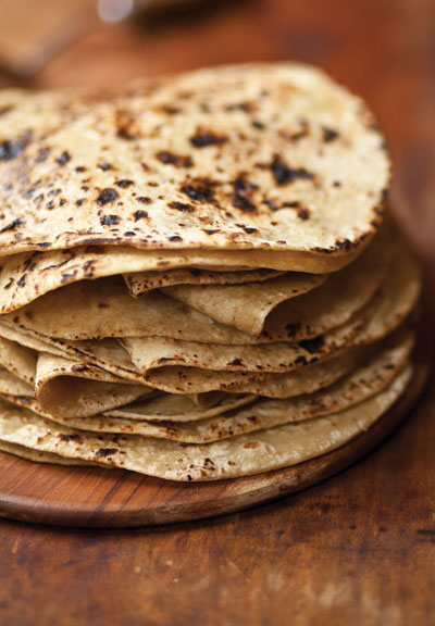Indian Flat Bread (Chapati)