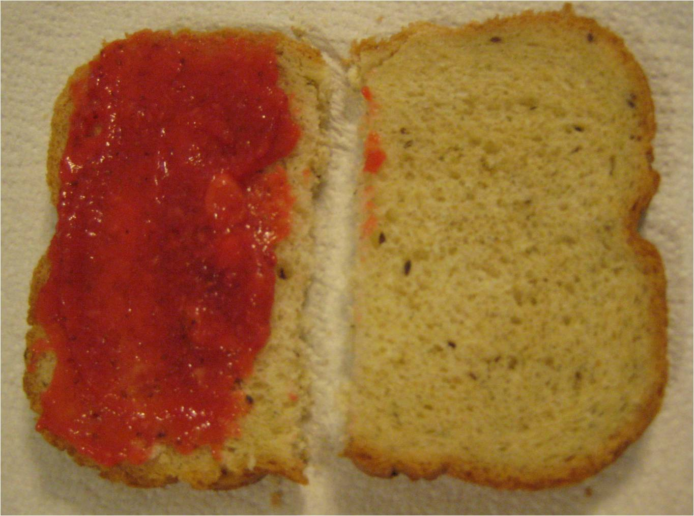 Jen's Honey Strawberry Freezer Jam