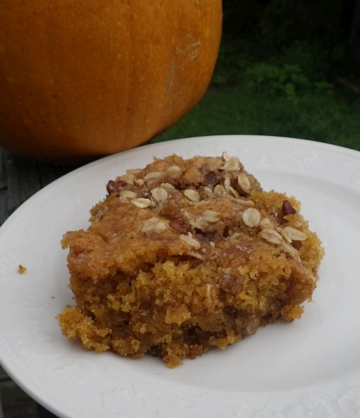 Delightful Pumpkin Coffee Cake