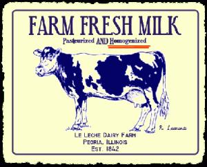 Dairy Vintage Sign