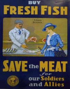 Fish Vintage Sign