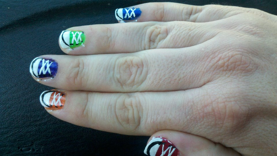 Wordless Wednesday: Chucks on Nails