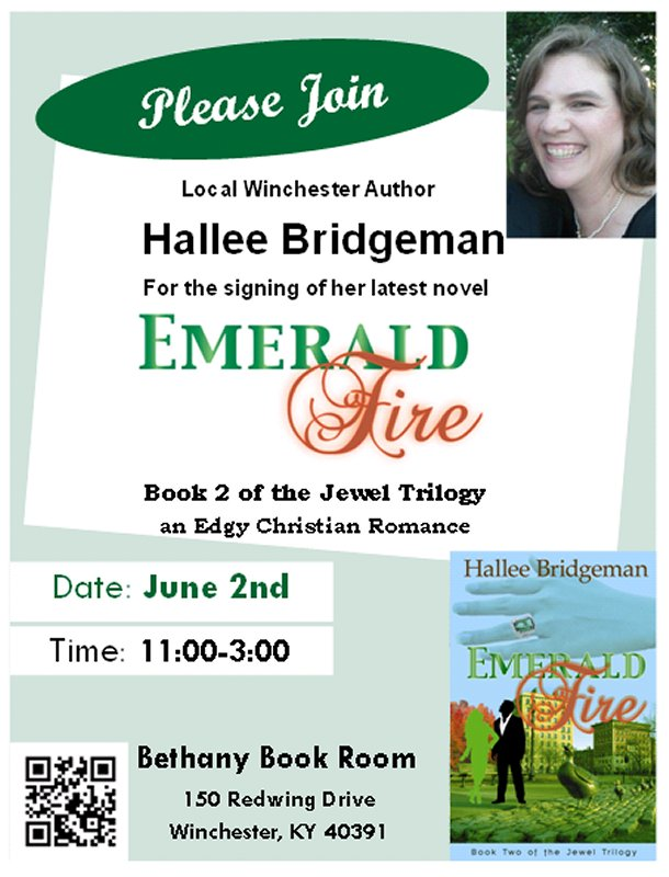 Book Signing Announcement!