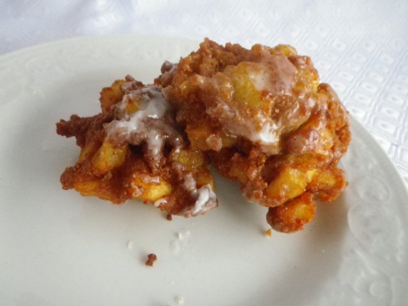 Easy Whole Wheat Apple Fritters