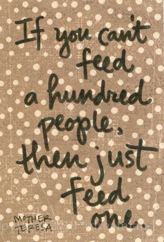 feed people