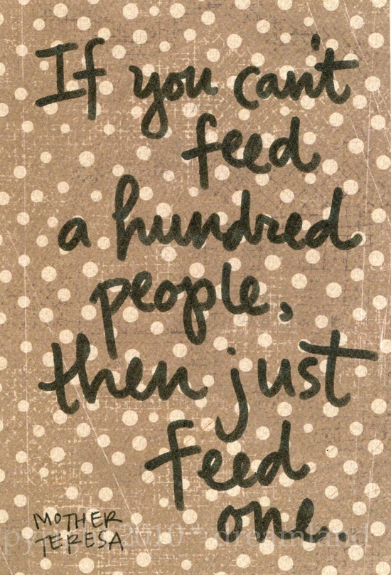 Just Feed One