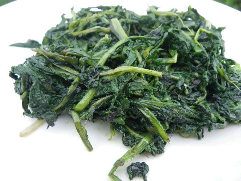 Sautéed Dandelion Greens
