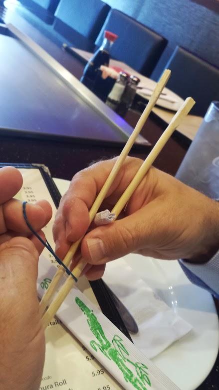 """Training Wheels"" for Chopsticks"